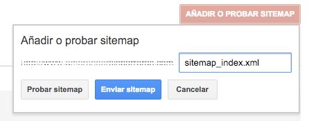 Probar Sitemap