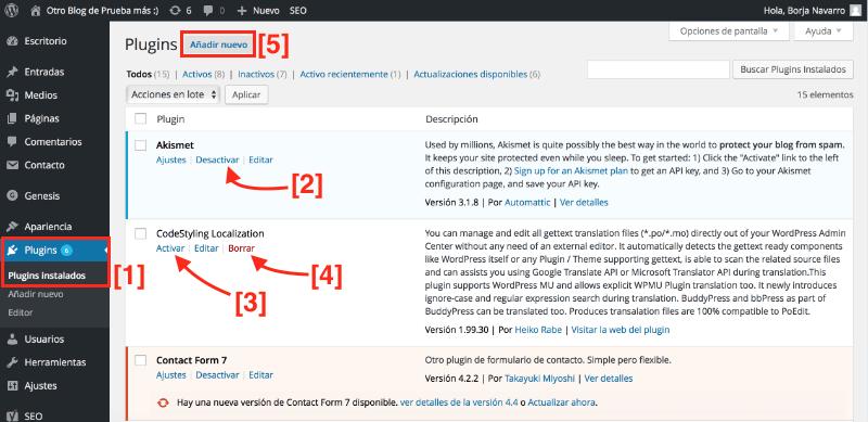Buscar los mejores plugins wordpress