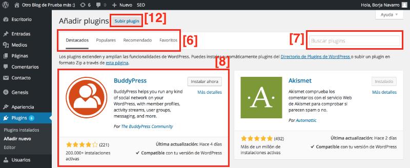 Plugins wordpress seguros