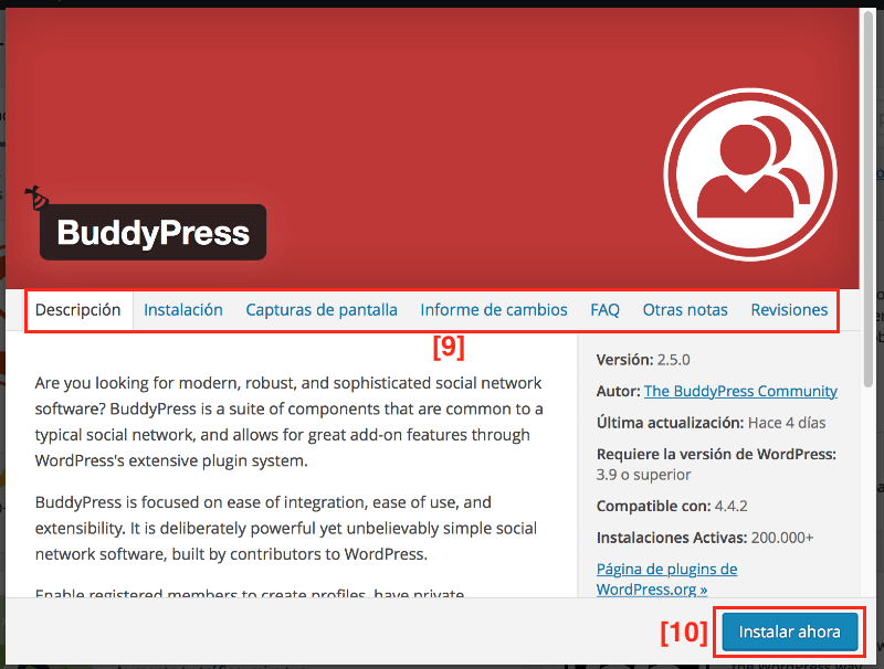 Instalar plugins en wordpress con seguridad
