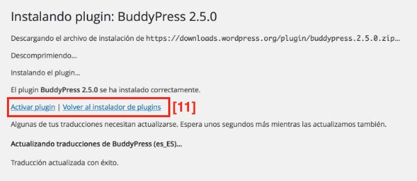 Subir plugin wordpres